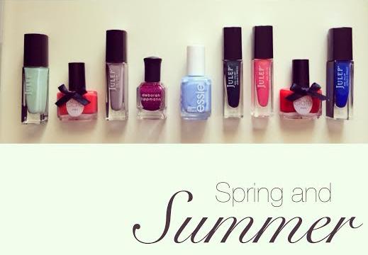 Spring and Summer Nail Polish Favorites
