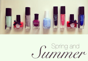 Spring and summer nails
