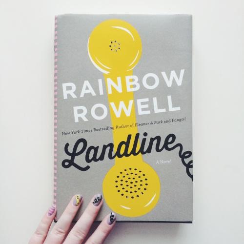 Landline Inspired Manicure