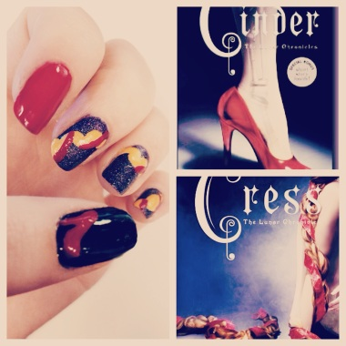 The Lunar Chronicles Nail Art