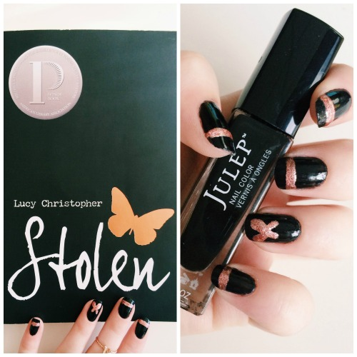 Stolen Inspired Nail Art