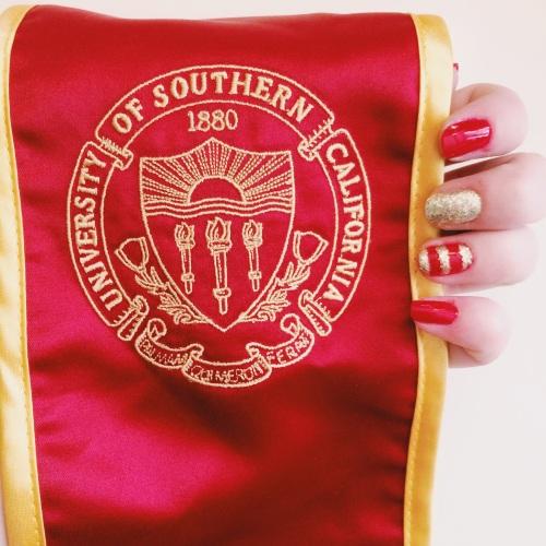 USC Trojans Gameday Inspired Nail Polish