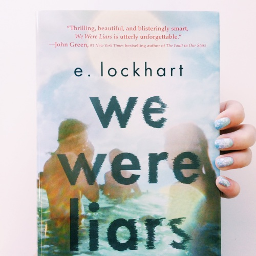 We Were Liars Cover Inspired Manicure
