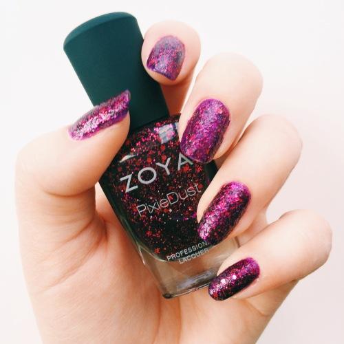 Zoya Noir Nail Polish Swatch
