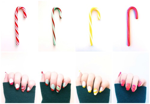 Candy Cane Collage