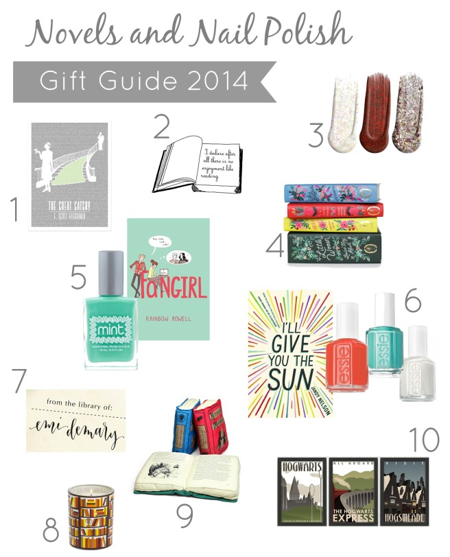 Novels and Nail Polish Gift Guide
