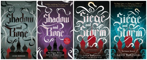 The Grisha Trilogy Covers