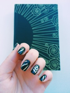 The Diviners Cover Inspired Manicure