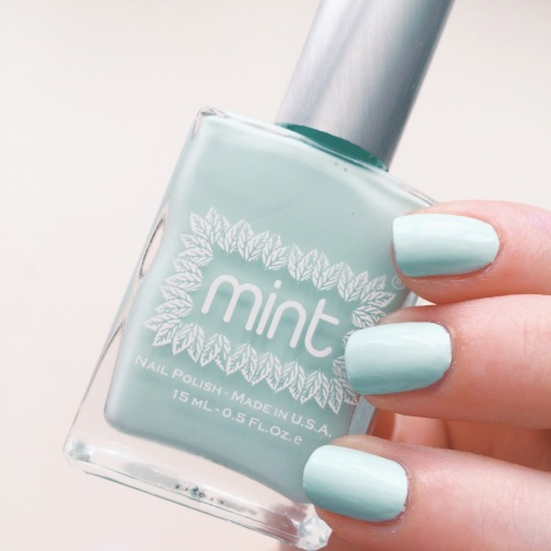 Mint Polish Ice Cube