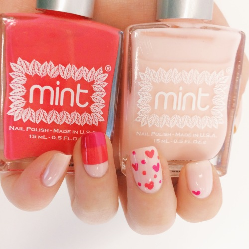 Valentine's Day Mani Tutorial