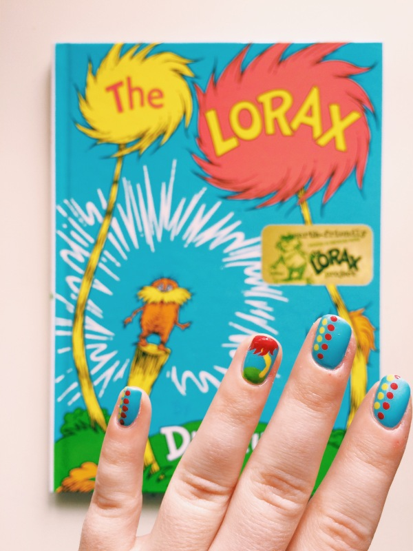 Read Across America Day // Novels and Nail Polish