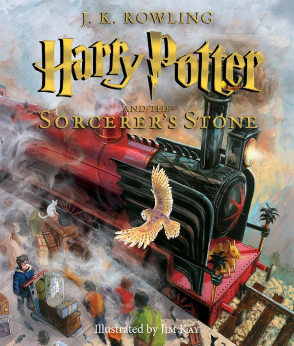 Harry Potter Illustrated Cover