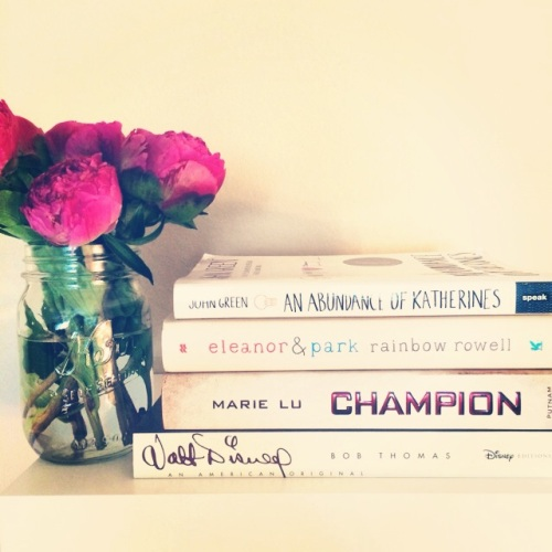 White Book Stack // Novels and Nail Polish