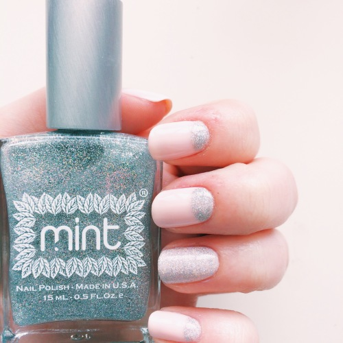 Mint Polish She Said Yes // Novels and Nail Polish