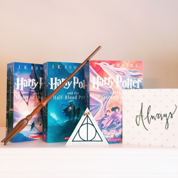 Harry Potter Series Books 5-7 // Novels and Nail Polish