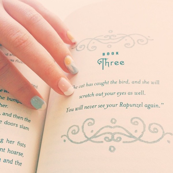 Cress by Marissa Meyer // Novels and Nail Polish