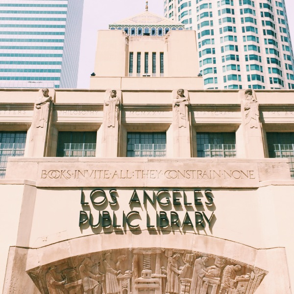 Los Angeles Central Public Library // Novels and Nail Polish