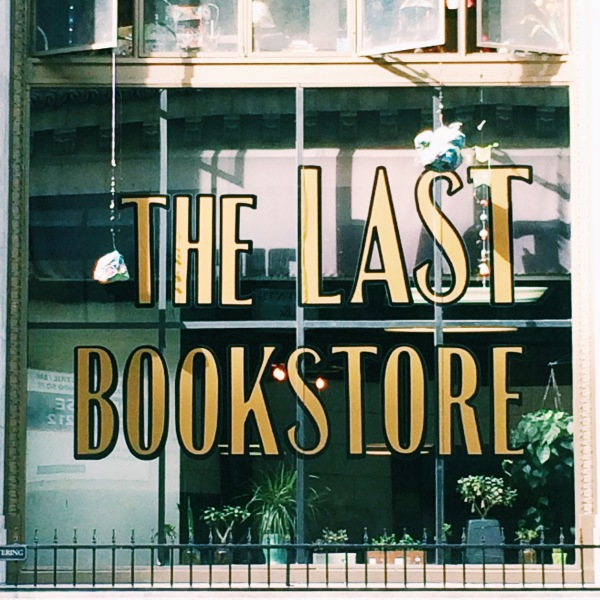 The Last Bookstore // Novels and Nail Polish