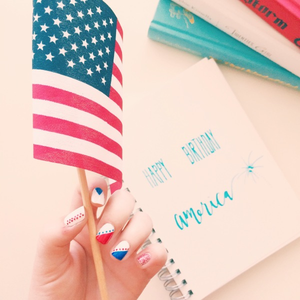 Happy Birthday America // Novels and Nail Polish