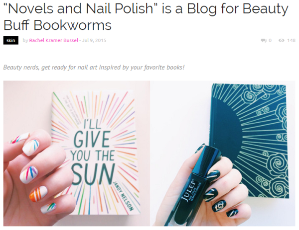 Novels and Nail Polish on YouBeauty