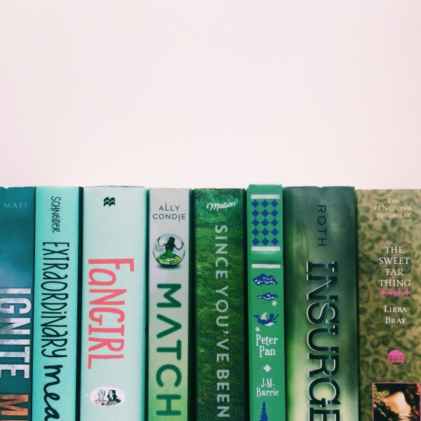 Green Ombre Books // Novels and Nail Polish