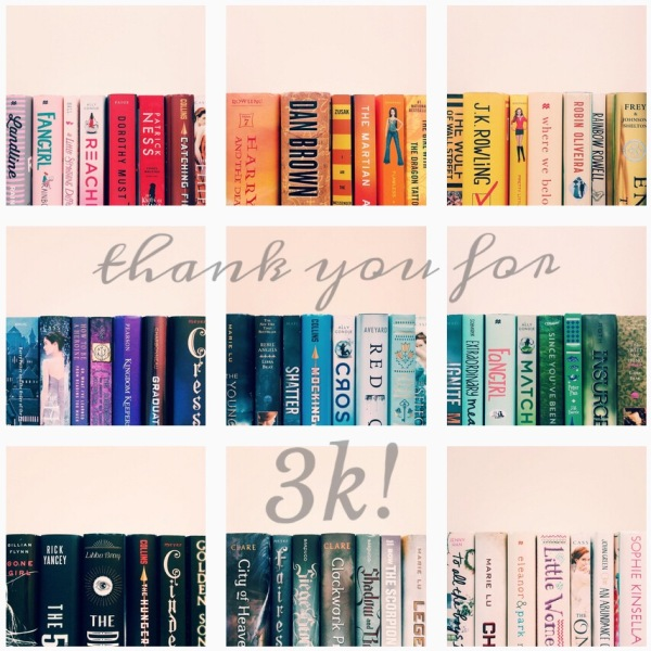 Thanks for 3K // Novels and Nail Polish