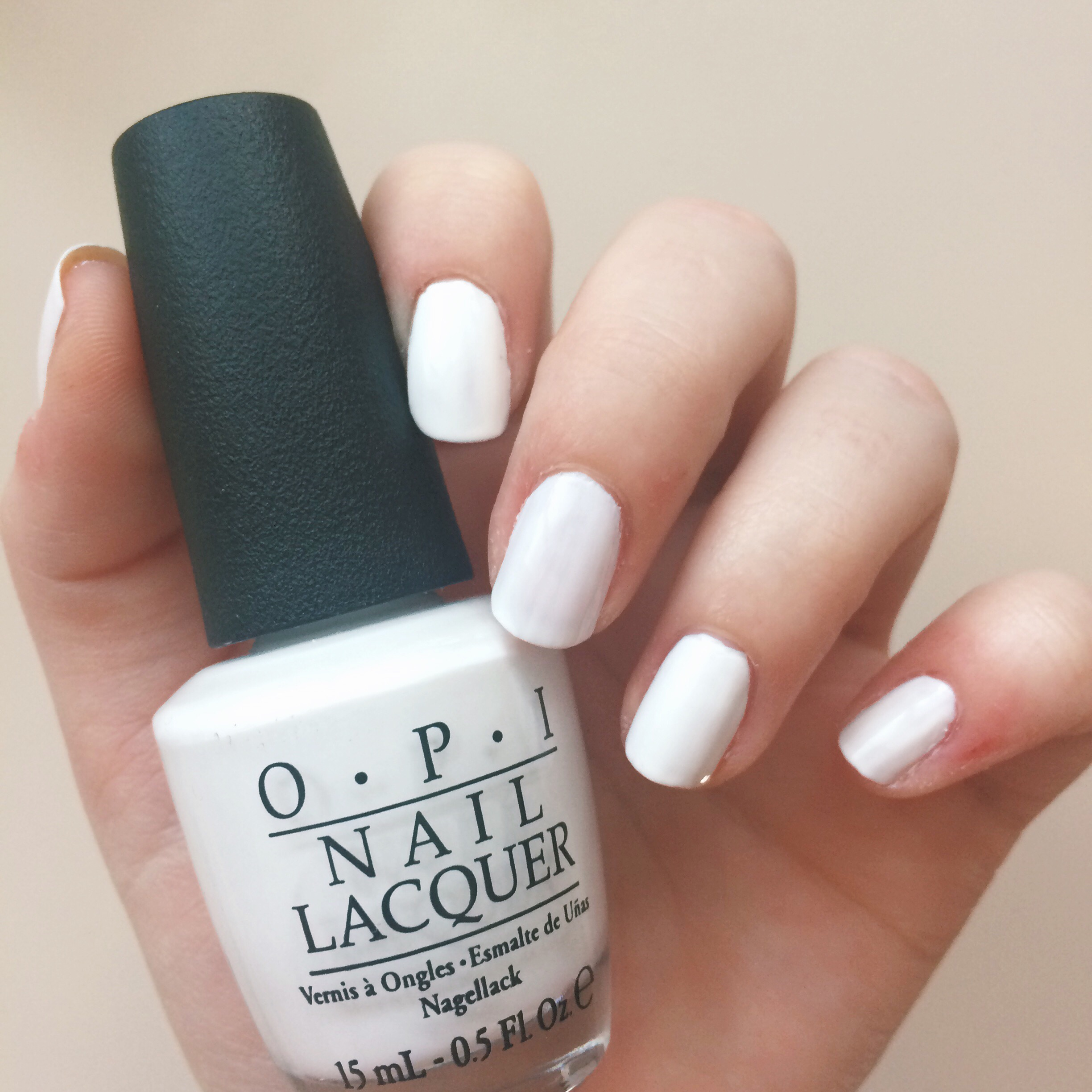 White After Labor Day {Nail Polish Edition}