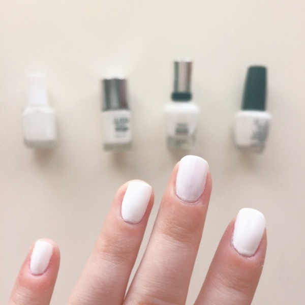 Best White Nail Polishes // Novels and Nail Polilsh