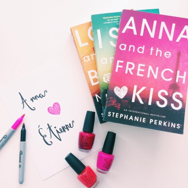 Stephanie Perkins book cover-inspired DIY prints // Novels and Nail Polish