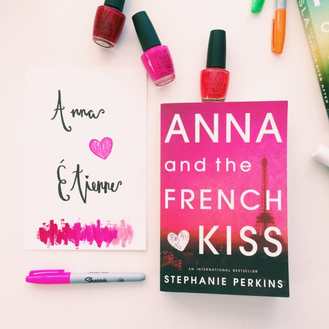 Stephanie Perkins book cover-inspired DIY prints // Novels and Nail Polish