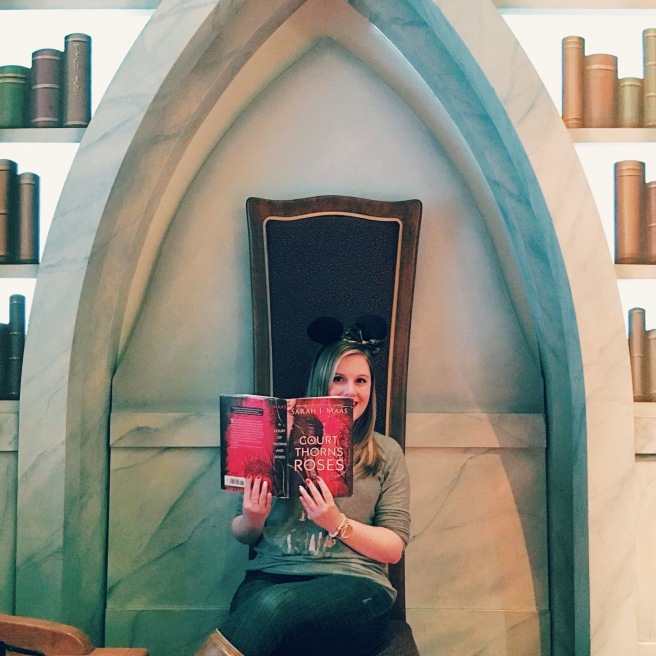Disneyland Bookworm Tour // Novels and Nail Polish