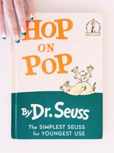 Hop on Pop Cover Inspired Manicure // Children's Book Manicures // Novels and Nail Polish