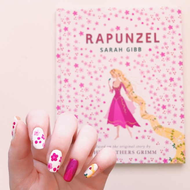 Rapunzel // Read Across America Day Children's Book Manicures // Novels and Nail Polish
